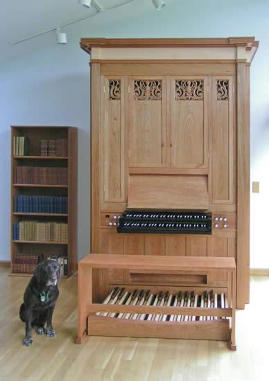 Wahl Organbuilders Ann Arbor Six Stop Practice Organ