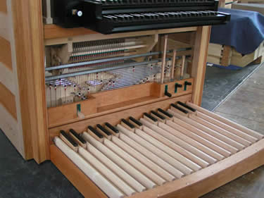 Wahl organbuilders construction 4 for Classic house organ bass