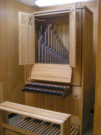 Wahl Organbuilders - Two-Stop Practice Organ second series